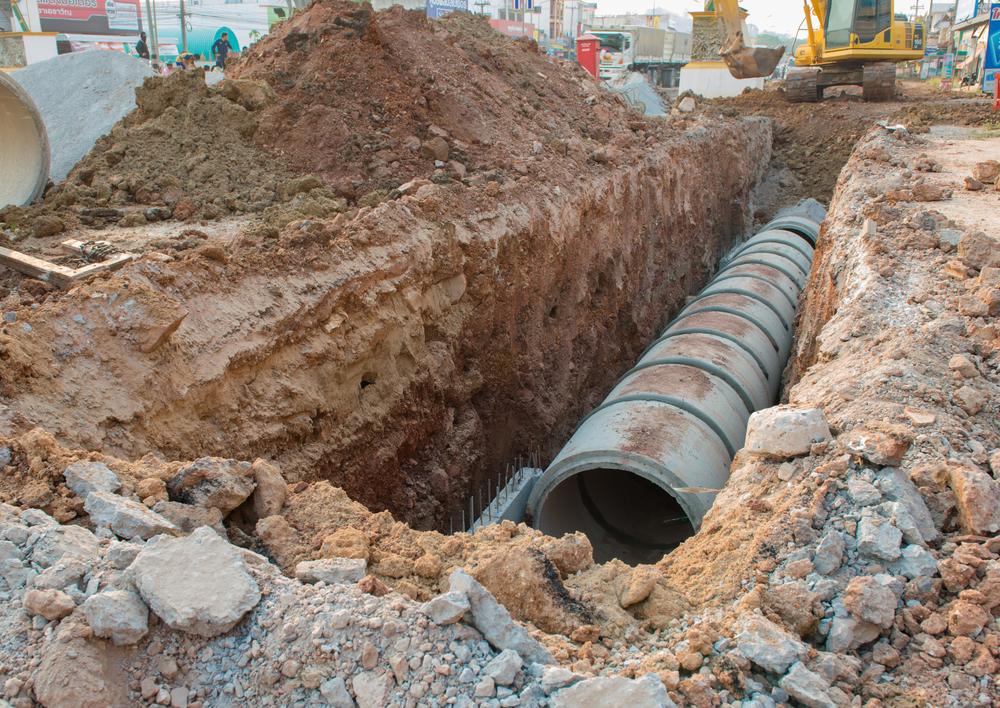 sewerage construction Queensland